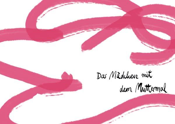 Katarina Kühl, Joachim Ringelnatz, Das Mädchen mit dem Muttermal, 1932, 2013